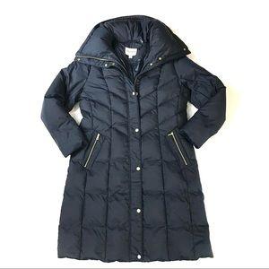 COLE HAAN Long Down Puffer Coat